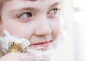 Shaving Photo